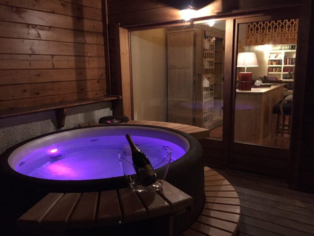 Spa Resort Mocca dans un chalet de luxe aux Gets
