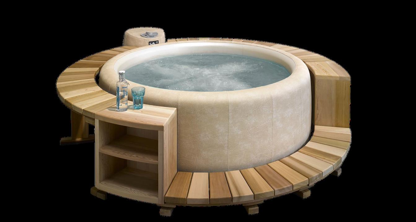 aménagement spa zen et bois